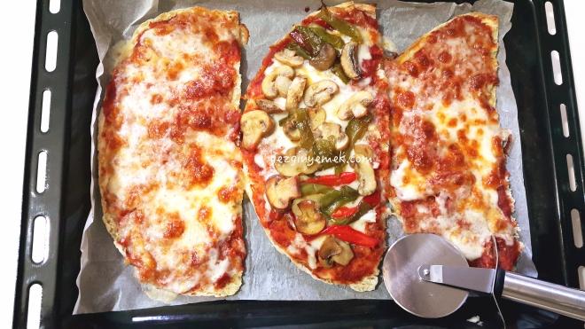Bazlama pizza